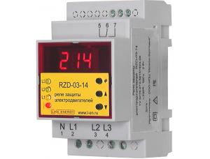 Реле защиты электродвигателя RZD-03-14